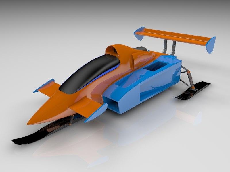 dxf snow jet