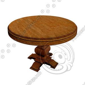 3d model table desk