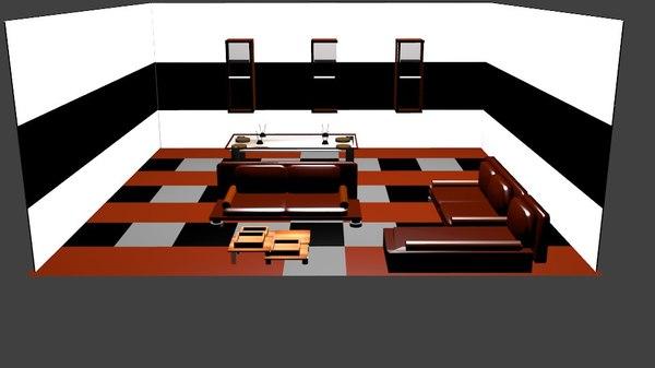 room livingroom 3ds free