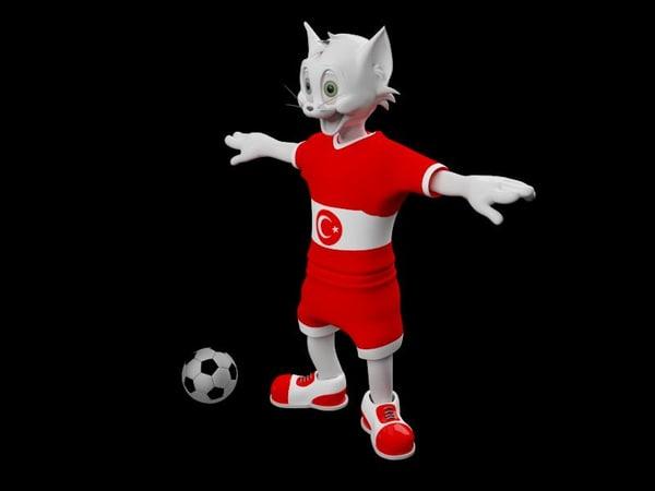 cat 3d model