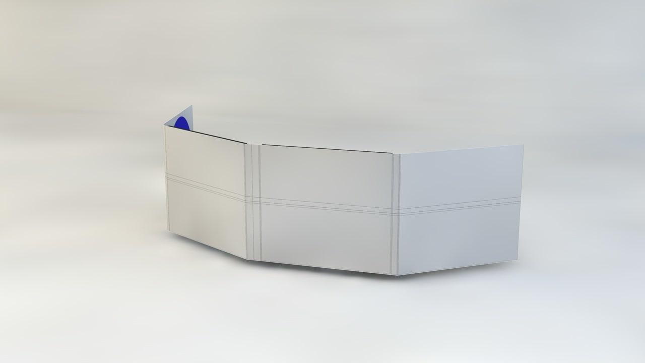 cd dvd folding sleeve 3d model