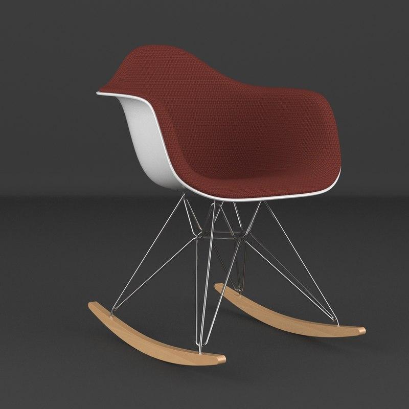 3ds max eames plastic arm chair