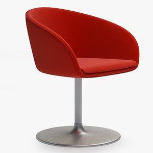 3d max armchair swivel chair