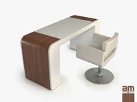 3ds max modern desk
