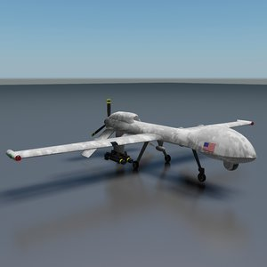 3d predator drone