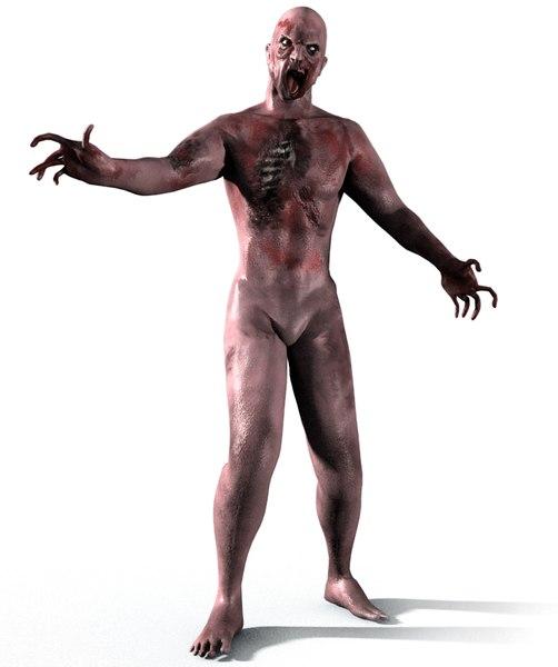 rigged skin 3d model