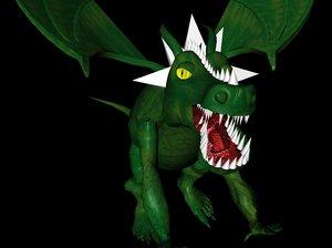 nogard dragon lizard c4d