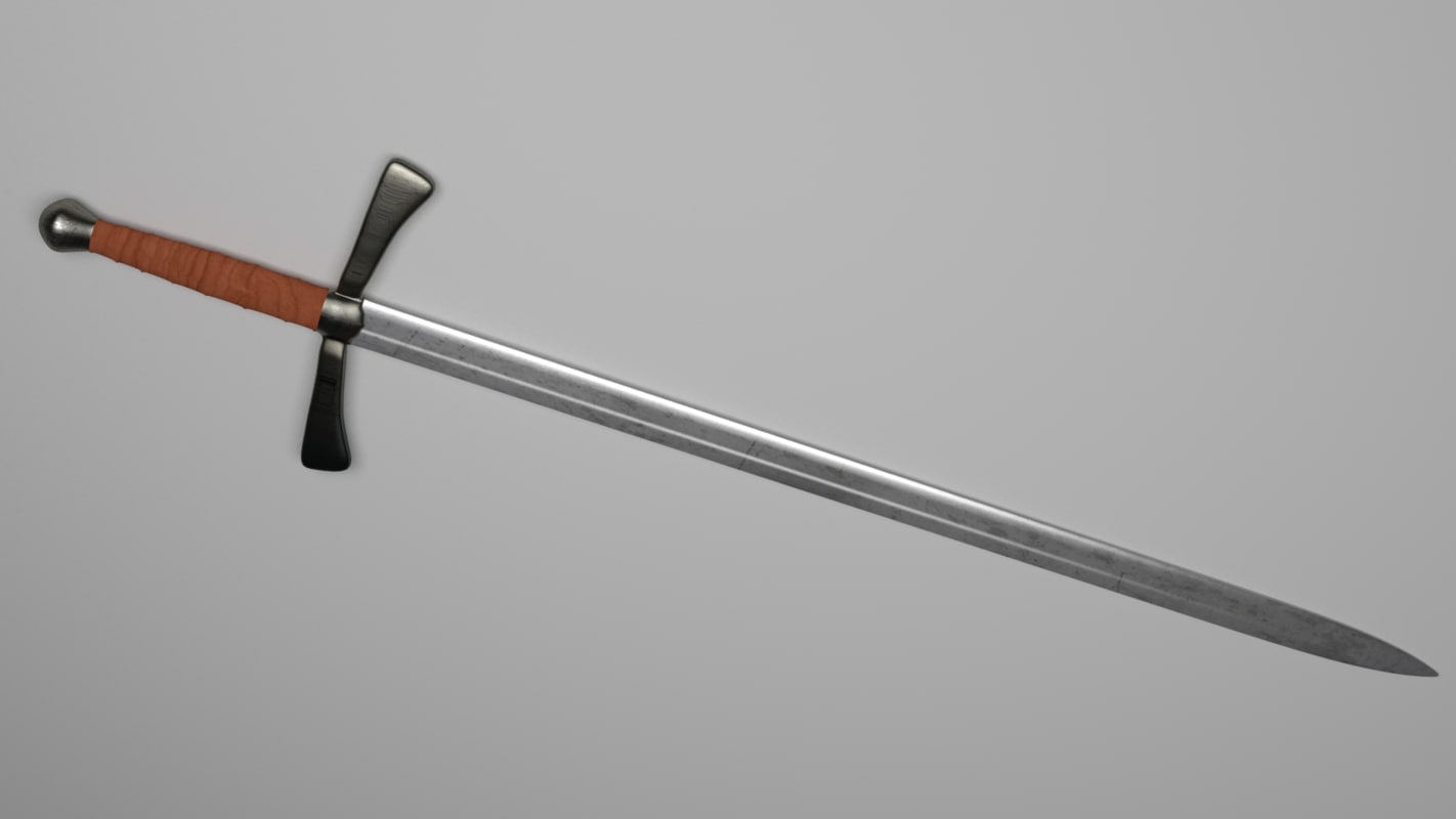 maya medieval sword