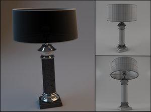 3d lamp newport model