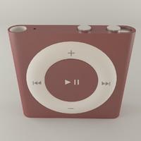 ipod shuffle 3d max