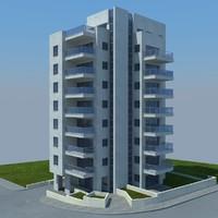 buildings 6 3d max