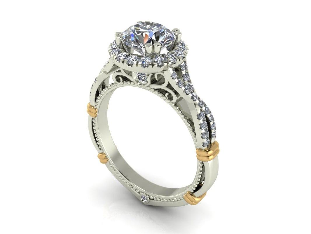 ring jewelry 3dm
