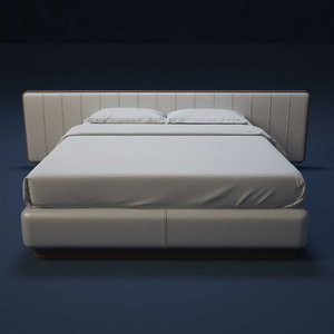 3d model of flou bed