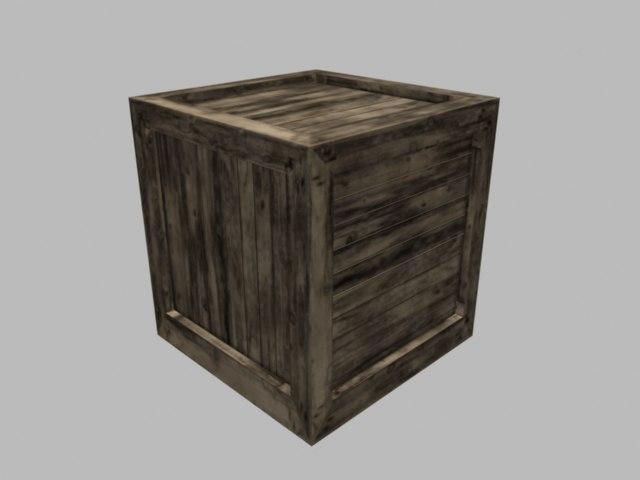 free obj mode realistic box