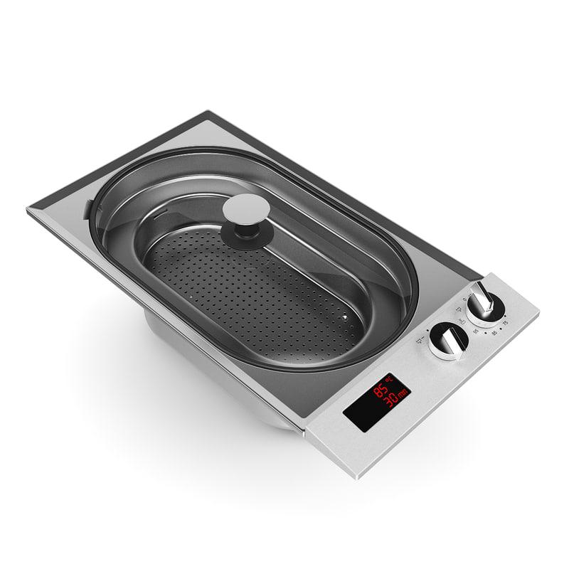 electric pot 3d model