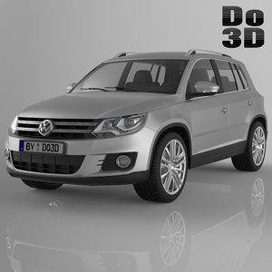 3d tiguan 2013 volkswagen model