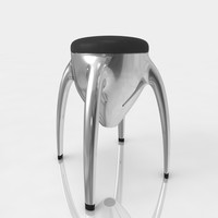 max bar stool leather