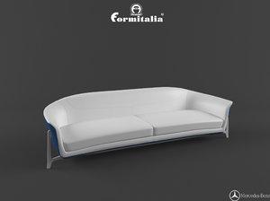 sofa mbs 001 3d model