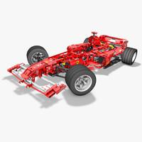 f1 lego racer c4d