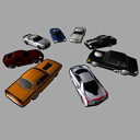 Racing Cars Pack 1