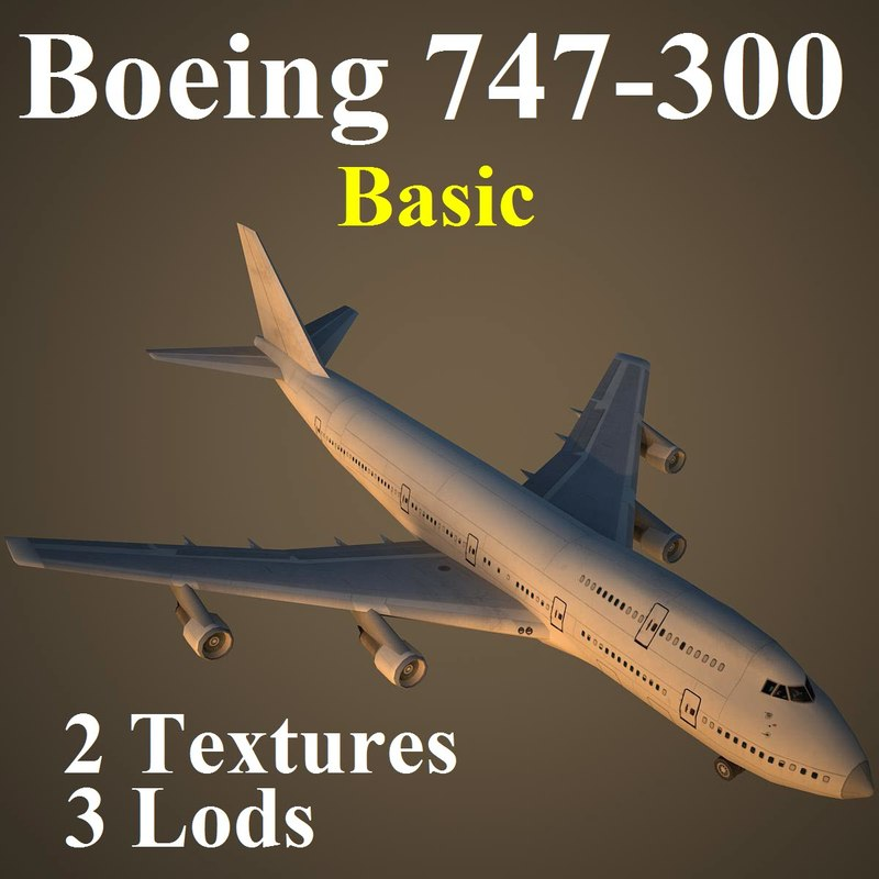 3d boeing basic
