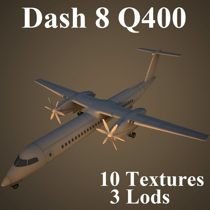 bombardier dash 8 q400 max