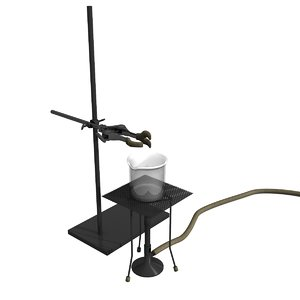 3d model laboratory equipment