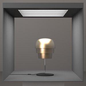 3d hd lamp design model