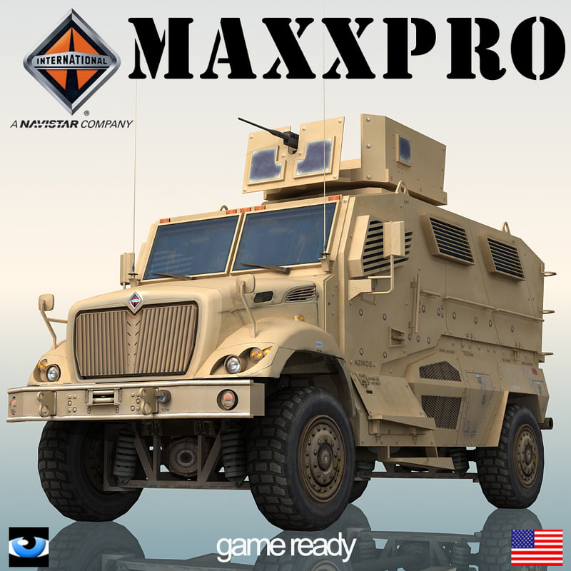 3d model international maxxpro