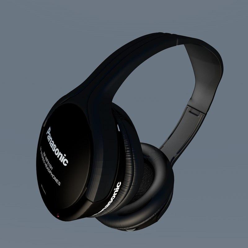 3ds max headphones panasonic