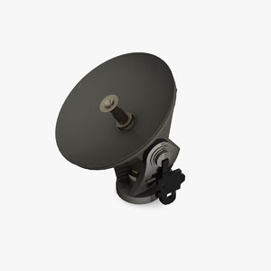 3d model satellite dish