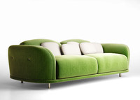 sofa moooi cloud 3d model