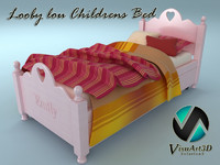 looby lou bed 3d model