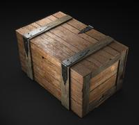 scatola di legno