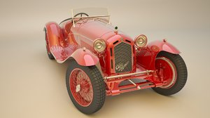 3d romeo antique model