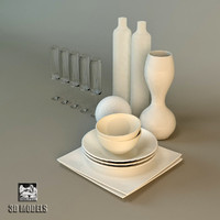 selva tableware 3d model