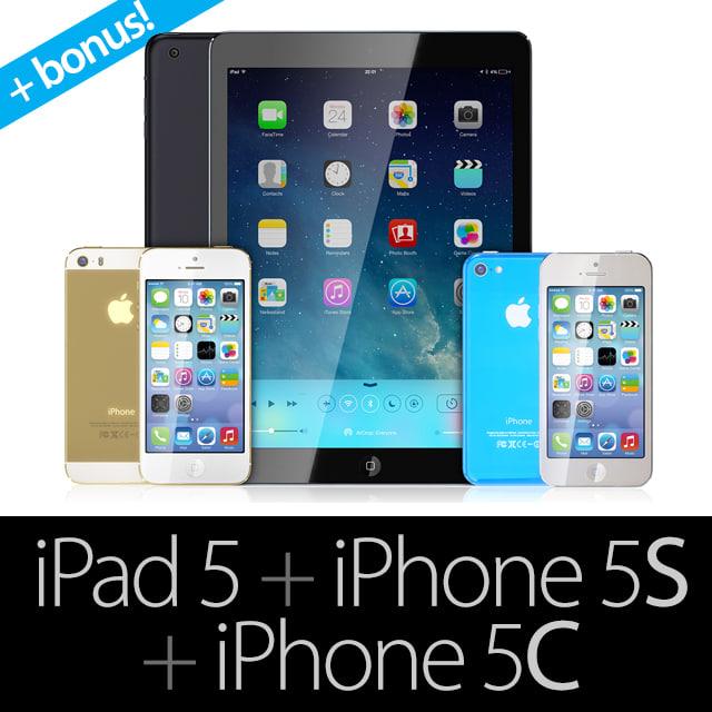 iphone 5c 5s ipad 3d model