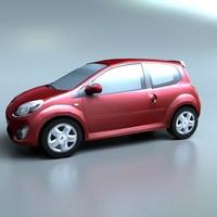 twingo 3d model