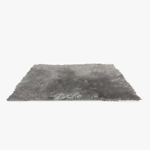 carpet hair fur 3d obj