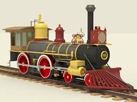 3d union pacific locomotive 119
