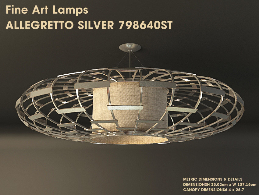 allegretto silver 798640st 3d model