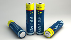 3ds max generic aaa battery