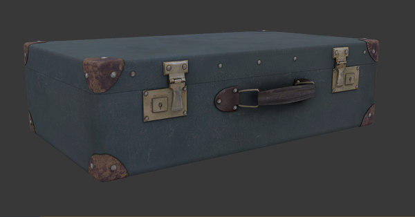 3d model of suitcase case