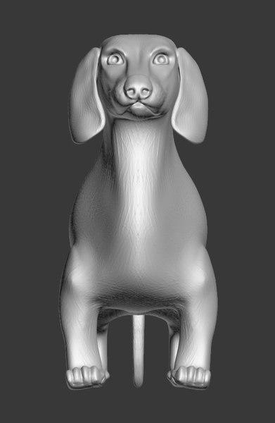 3d dog model