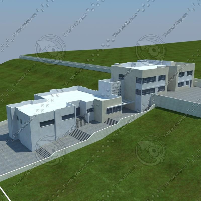 buildings 1 10 fbx