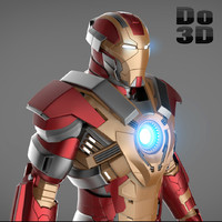 Iron Man 3 Suit - Mark 17 Armor Heartbreaker
