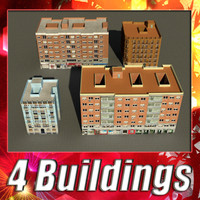 building 69-72 collections 3d 3ds