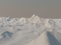 3d model topology mount everest