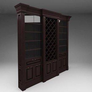 wine case 3d model