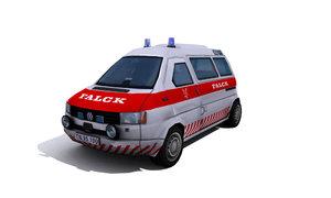 ambulance mercedes benz 3d model
